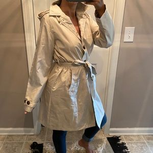 The Mid-length Trench Coat